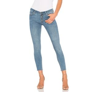 Free People Raw Hem Skinny Jeans